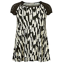 Buy Windsmoor Ikat Print Tunic Top, Multi/Black Online at johnlewis.com