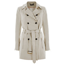 Buy Mint Velvet Belted Trench Coat, Stone Online at johnlewis.com