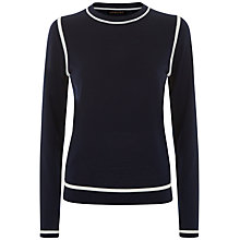 Buy Jaeger Gostwyck Tipped Jumper Online at johnlewis.com