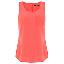 Buy Oasis Plain Pocket Vest Online at johnlewis.com