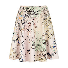 Buy Ted Baker Crystal Droplets Skirt, Nude Pink Online at johnlewis.com