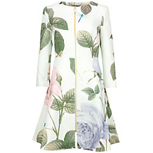 Buy Ted Baker Rafell Distinguishing Rose Coat, Mint Online at johnlewis.com
