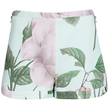 Buy Ted Baker Denyse Distinguishing Rose Shorts, Mint Online at johnlewis.com