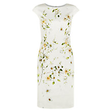 Buy Hobbs Cherry Blossom Dress, White Multi Online at johnlewis.com