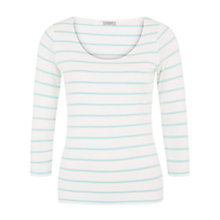 Buy Hobbs Catherine Top, Ivory/Eau De Nil Online at johnlewis.com