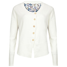 Buy Ted Baker Butterfly Print Cardigan, Cream Online at johnlewis.com