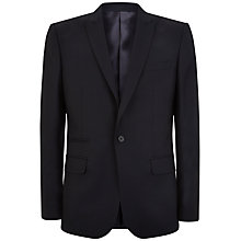 Buy Jaeger Soft Twill Slim Blazer, Navy Online at johnlewis.com