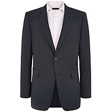 Buy Jaeger Wool Glen Check Suit Jacket, Navy Online at johnlewis.com
