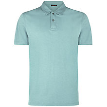 Buy Jaeger Cotton Pique Polo Shirt Online at johnlewis.com