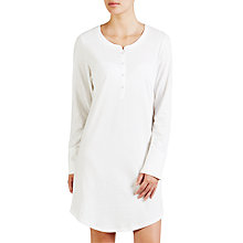 Buy John Lewis Carrie Spot Nightdress, Ivory Online at johnlewis.com