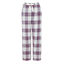 Buy John Lewis Check Pyjama Pants, Grey Online at johnlewis.com