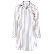 Buy John Lewis Dobby Heart Nightshirt, Multi Online at johnlewis.com