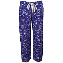 Buy Cyberjammies Maggie Print Pyjama Pants, Blue Online at johnlewis.com
