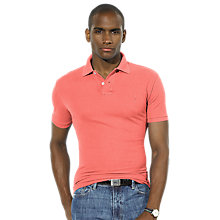 Buy Polo Ralph Lauren Slim Fit Mesh Polo Shirt Online at johnlewis.com