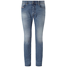 Buy Diesel Tepphar 842H Slim Jeans, Light Wash Online at johnlewis.com