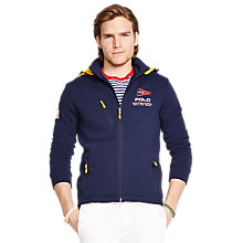 Buy Polo Ralph Lauren America's Cup Track Jacket, French Navy Online at johnlewis.com