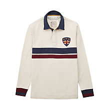 Buy Joules Stockton Rugby Shirt, Antique Creme Online at johnlewis.com