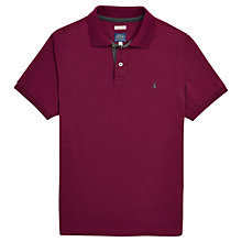 Buy Joules Woody Slim Fit Polo Shirt, Rich Plum Online at johnlewis.com