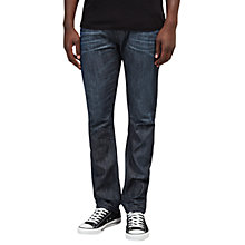 Buy Diesel Buster 842N Slim Jeans, Dark Wash Blue Online at johnlewis.com