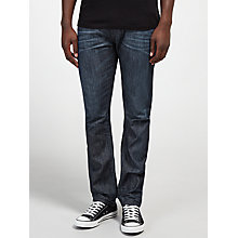 Buy Diesel Buster 842N Tapered Jeans, Dark Wash Blue Online at johnlewis.com