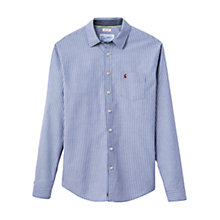 Buy Joules Lyndhurst Poplin Shirt, Blue Online at johnlewis.com