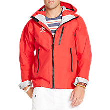 Buy Polo Ralph Lauren Chinook Water-Resistant Hooded Jacket, Red Online at johnlewis.com