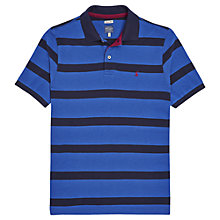 Buy Joules Filbert Stripe Polo Shirt, Dark Blue Online at johnlewis.com