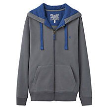 Buy Joules Hemsby Castlerock Hoody, Charcoal Online at johnlewis.com