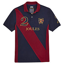 Buy Joules Latino Polo Player Top, French Navy/Red Online at johnlewis.com