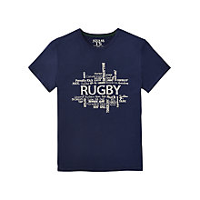 Buy Joules Harborough Rugby T-Shirt, French Navy Online at johnlewis.com