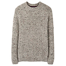 Buy Joules Lamport Fleck Wool Blend Jumper, Grey Fleck Online at johnlewis.com
