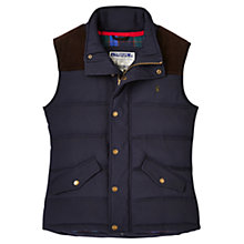 Buy Joules Burbank Gilet, Marine Navy Online at johnlewis.com