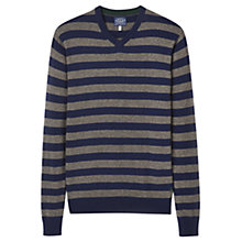 Buy Joules Retford Lambswool Blend Striped Jumper Online at johnlewis.com