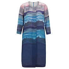 Buy John Lewis Capsule Collection Demi Ombre Print Dress, Multi Online at johnlewis.com