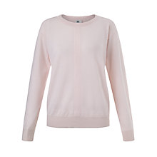 Buy Kin by John Lewis Linen Merino Crew Neck Jumper Online at johnlewis.com