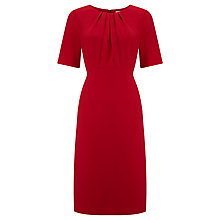 Buy John Lewis Lauren Shift Dress, Red Online at johnlewis.com