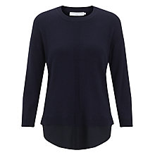Buy John Lewis Capsule Collection Woven Back Jumper Online at johnlewis.com