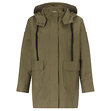 Buy Kin by John Lewis Lightweight Parka Jacket, Dark Green Online at johnlewis.com