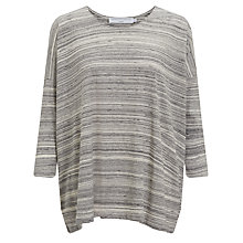 Buy John Lewis Capsule Collection Space Dye Top, Grey Online at johnlewis.com