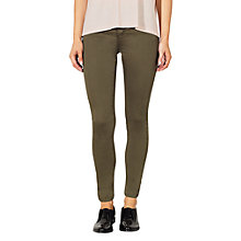 Buy Kin by John Lewis Skinny Jeans, Dark Green Online at johnlewis.com