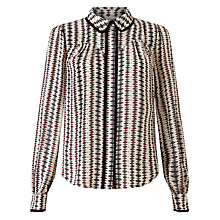 Buy Somerset by Alice Temperley Opel Print Top, Multi Online at johnlewis.com