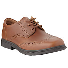 Buy John Lewis Heirloom Collection Leather Brogue Shoes, Tan Online at johnlewis.com