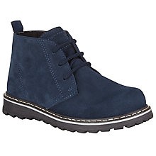 Buy John Lewis Children's Freddie Suede Desert Boots Online at johnlewis.com