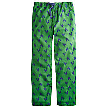 Buy Joules Cockerel Lounge Pants, Green Online at johnlewis.com