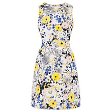 Buy Warehouse Sporty Palm Print Dress, Multi Online at johnlewis.com