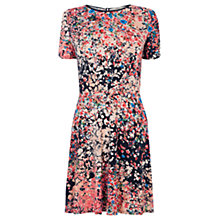 Buy Oasis Clustered Ditsy Print Dress, Multi Online at johnlewis.com