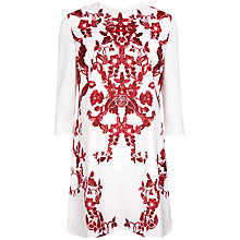 Buy Ted Baker Odana China Print Tunic Dress, Pale Pink Online at johnlewis.com