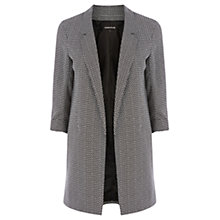 Buy Warehouse Geometric Print Jacket, Black/White Online at johnlewis.com