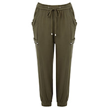 Buy Warehouse Utility Trousers, Khaki Online at johnlewis.com