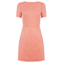 Buy Oasis Ruby Dress, Soft Orange Online at johnlewis.com